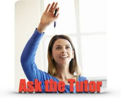 ask the tutor