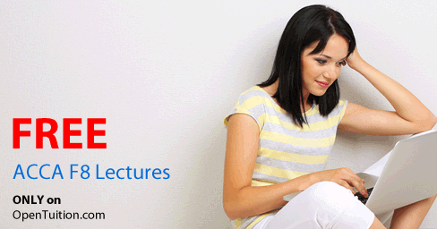 ACCA F8 Lectures - free ACCA videos - Audit and Assurance