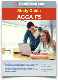 Acca f5 performance management notes lectures exam tips explore below all the f5 study materials that are available fandeluxe Images