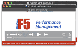 ACCA F3 Financial Accounting FIA Free F3 notes and lectures