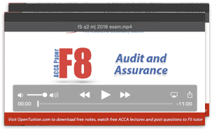 Acca paper f8 audit and assurance pdf download