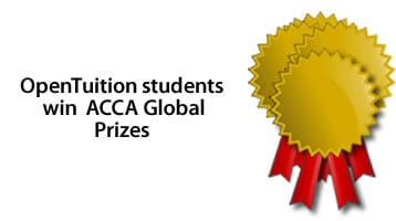 ACCA Global Prize winners