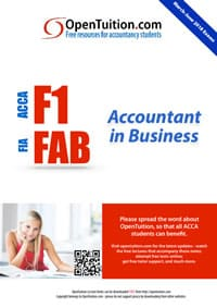 ACCA F1 Notes, FIA FFA Download lecture notes