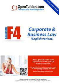 ACCA F4 Notes (ENG) 1