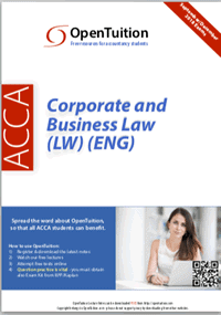 Notes business pdf law