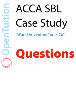 ACCA Strategic Business Leader (SBL) Free notes, lectures