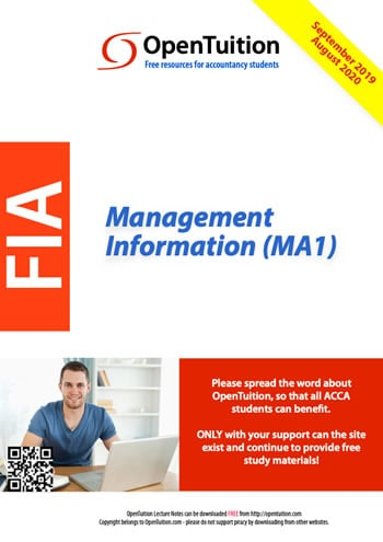 MA1 Management Information 1